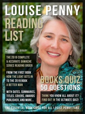 cover image of Louise Penny Reading List and Books Quiz
