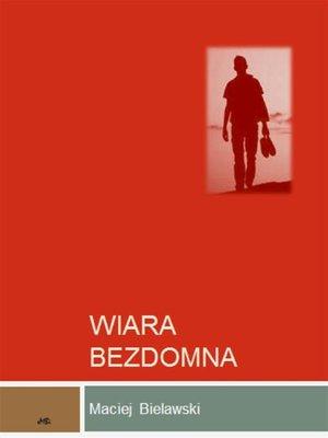 cover image of Wiara bezdomna