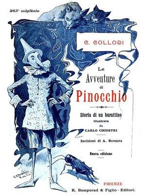 cover image of Le avventure di Pinocchio (Edizione Originale Illustrata)