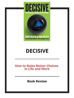 cover image of Decisive