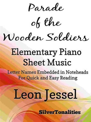 cover image of Parade of the Wooden Soldiers Elementary Piano Sheet Music