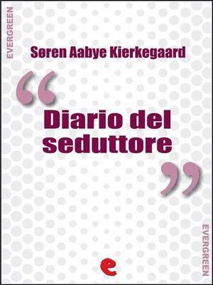 cover image of Diario del Seduttore