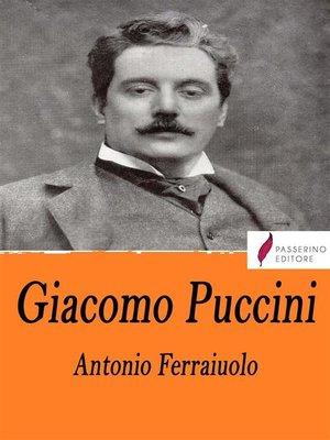 cover image of Giacomo Puccini