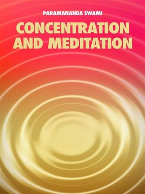 cover image of Concentration and meditation
