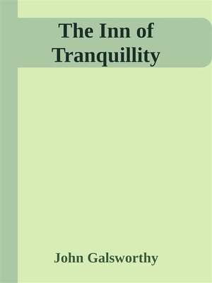 cover image of The Inn of Tranquillity