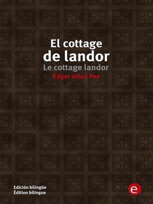 cover image of El cottage de landor/Le cottage de landor