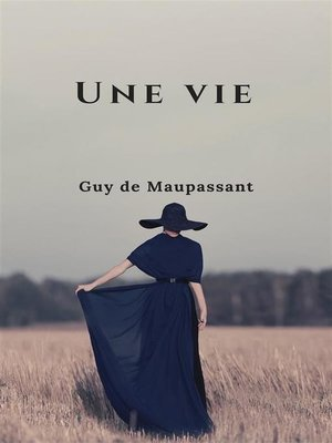cover image of Une vie