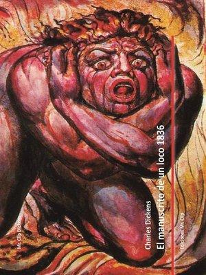 cover image of El manuscrito de un loco 1836