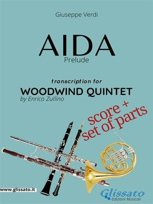 cover image of Aida (prelude) Woodwind Quintet--Score & Parts