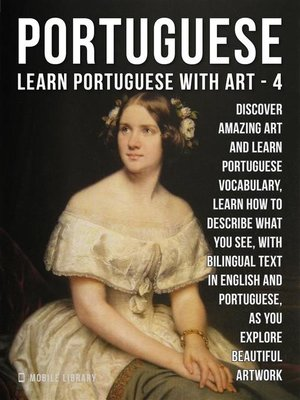 cover image of 4--Portuguese--Learn Portuguese with Art