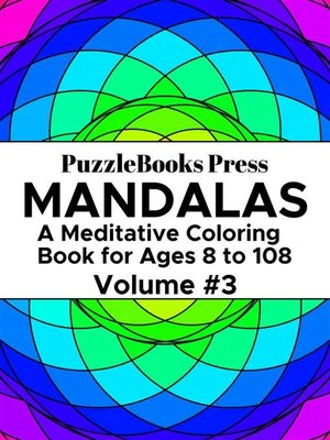 cover image of PuzzleBooks Press Mandalas--Volume 3
