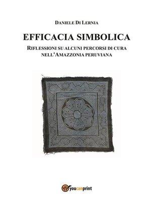 cover image of Efficacia simbolica