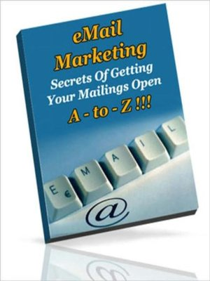 cover image of Email Marketing a to Z