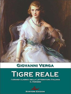 cover image of Tigre reale