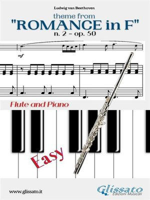 """cover image of Theme from """"Romance in F"""" Easy Flute & Piano"""