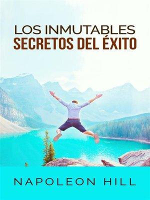 cover image of Los inmutables Secretos del éxito (Traducción--David De Angelis)