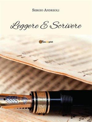 cover image of Leggere e scrivere