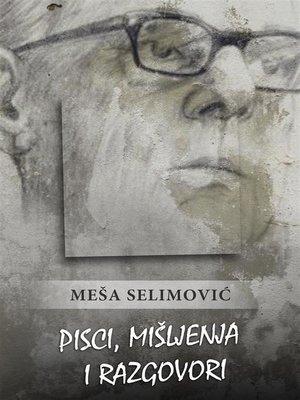 cover image of Pisci, mišljenja i razgovori