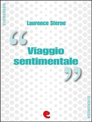cover image of Viaggio Sentimentale (A Sentimental Journey)