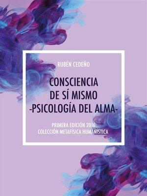 cover image of Consciencia de Sí Mismo