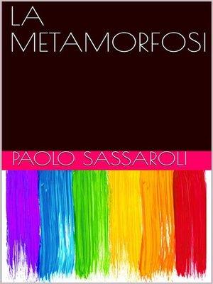 cover image of La metamorfosi