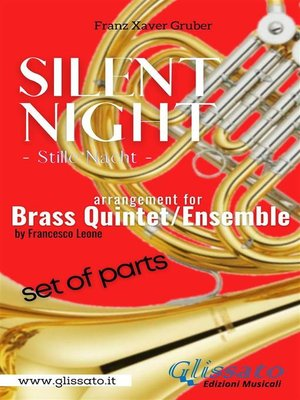 cover image of Silent Night--Brass Quintet/Ensemble (11 parts)