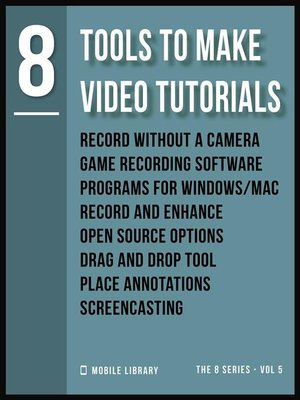cover image of Tools to Make Video Tutorials 8