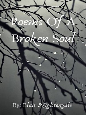 cover image of Poems of a Broken Soul