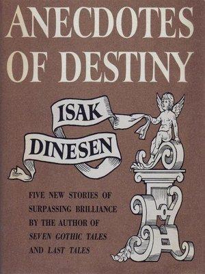 cover image of Anecdotes of Destiny