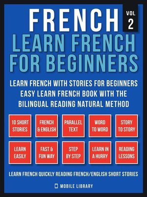 cover image of French--Learn French for Beginners--Learn French With Stories for Beginners (Vol 2)