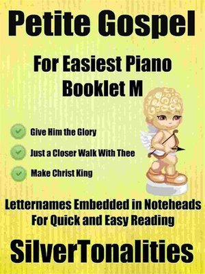 cover image of Petite Gospel for Easiest Piano Booklet M