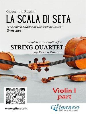 cover image of La Scala di Seta (overture) String Quartet--Set of parts