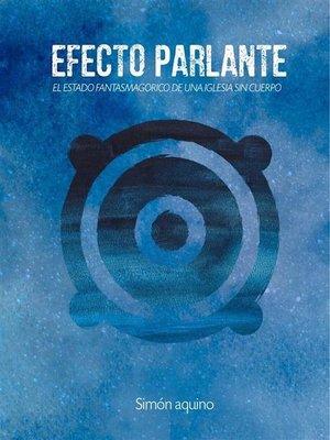 cover image of Efecto Parlante