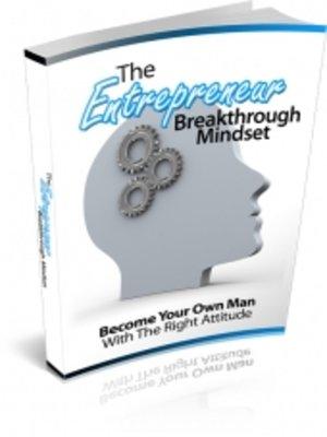 cover image of The Entrepreneur Breakthrough Mindset