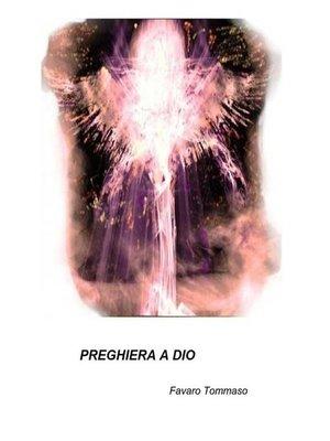cover image of Preghiera a Dio