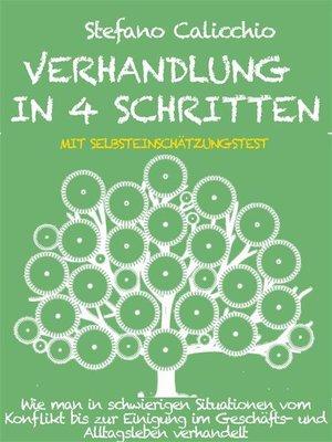 cover image of Verhandlung in 4 schritten