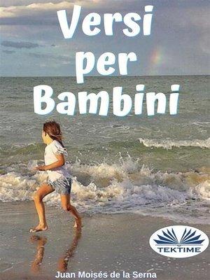 cover image of Versi Per Bambini