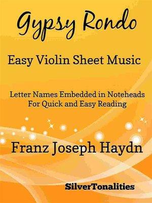 cover image of Gypsy Rondo Easy Violin Sheet Music