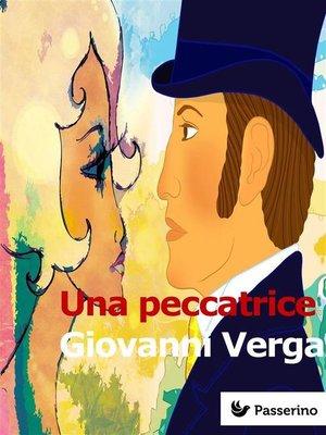 cover image of Una peccatrice
