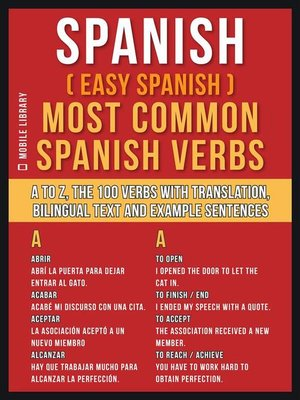 cover image of Spanish ( Easy Spanish ) Most Common Spanish Verbs