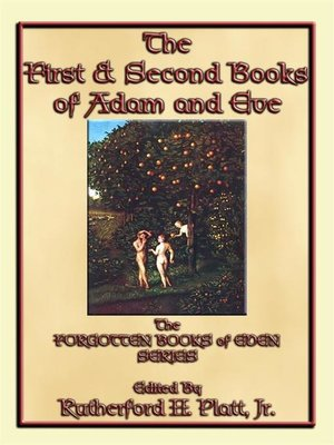 cover image of The First and Second Books of Adam and Eve