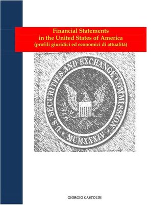 cover image of Financial Statements in the United States of America