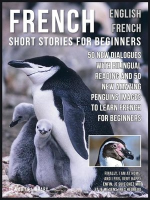 cover image of French Short Stories for Beginners--English French