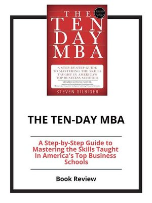cover image of The Ten-Day MBA