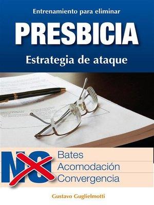 cover image of Presbicia--Leer sin gafas