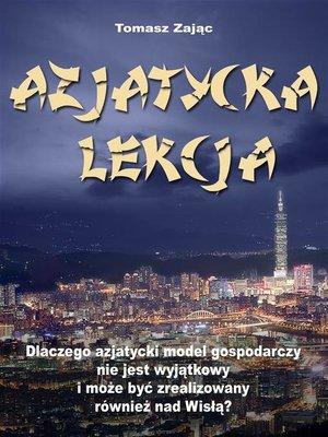 cover image of Azjatycka lekcja