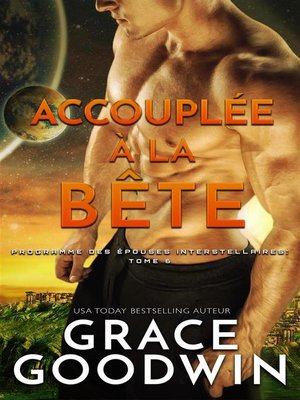 cover image of Accouplée à la bête