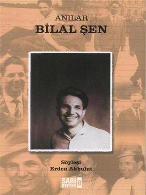 cover image of Anılar Bilal Şen