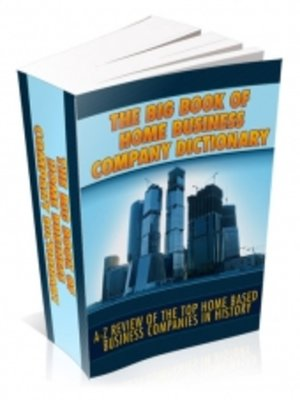 cover image of The Big Book of Home Business Company Directory