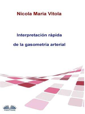 cover image of Interpretación rápida de la gasometría arterial